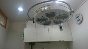 動物病院の手術室