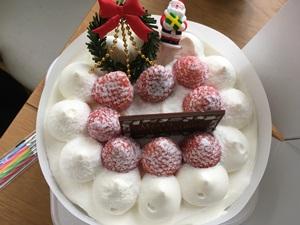 クリスマスケーキの懸賞
